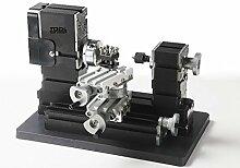60w 12000rpm High Power Miniatur Metall Drehmaschinen TZ20002MR,Holzbearbeitungsmaschinen , DIY Werkzeuge, Studentengeschenke Kinder