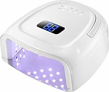 60W Nageltrockner, LED/UV Lampe für zwei Hände,