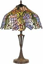 61 cm Tischleuchte Tiffany Artistar
