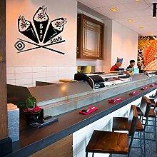 61x57cm Sushi Japanisches Restaurant Hausgeschäft