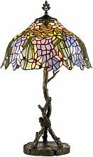 62 cm Tischleuchte Tiffany Artistar
