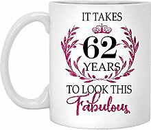 62. Geburtstagsgeschenk Für Frauen-Es Dauert 62