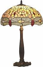 63 cm Tischleuchte Tiffany Artistar