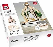 63143505 3D-Bausatz aus Holz, Mr & Mrs, mit