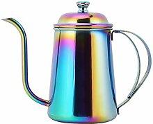 650ML Edelstahl über Kaffeekessel, Schwanenhals
