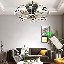 65W Modern Deckenventilator mit beleuchtung und