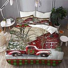 665 Bettwäsche-Set,Mikrofaser,Weihnachten mit