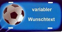 674 Fußball blau