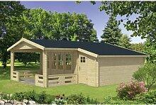 694 cm x 763 cm Gartenhaus Kory Garten Living