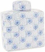 6CE0018G ---- Clayre & Eef Serie Keramik ---- Trend Design blau Vorratsdose a...