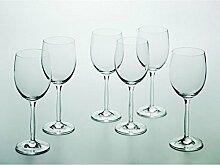 6er Maxwell & Williams Vintage Glass Weiss-Weinglas