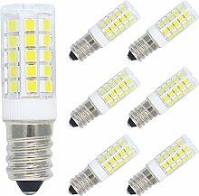 6er Pack 5W E14 LED Lampe Kaltweiß 6000K, Ersatz