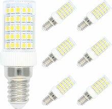 6er Pack Dimmbar 10W E14 LED Lampe Kaltweiß