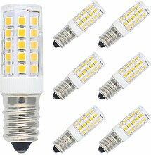 6er Pack Dimmbar 5W E14 LED Lampe Warmweiß 3000K,