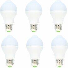 6er-Pack E27 Fassung 5W LED Lampe mit