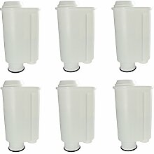 6er Pack Scanpart Wasserfilter passend für Saeco Intenza
