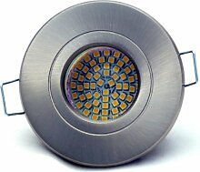 6er Set Bad Einbaustrahler Delfi 230V IP54 Farbe