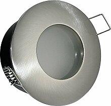 6er Set LED Badezimmer Einbaustrahler