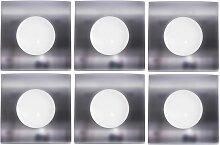 6er Set LED Einbau Decken Lampen Spot Strahler