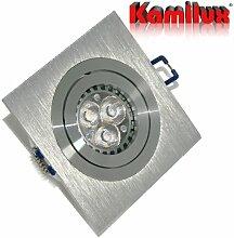 6er Set LED Einbaustrahler Exquisit Farbe