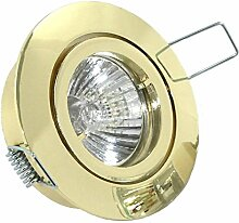 6er Set LED o. Halogen Einbaustrahler Lino für