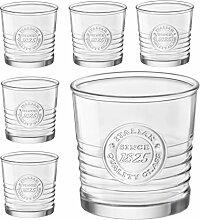 6er Set Whiskygläser OFFICINA, 30 cl, 10 oz, Ø