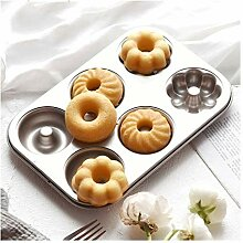 6Holes Donut Backform Brot Kuchen West