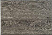 6teiliges hochwertiges Platzset 6er in Nussbaum braun Holzoptik Platzdeckchen Platzdecke Dekoration Küchendeko Tischmatte