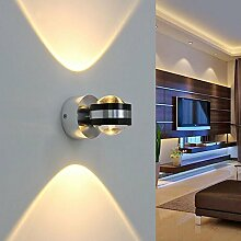 6W LED Kugel Wandleuchte Wandlampe Effektlampe