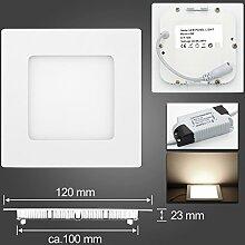 6W LED Panel Leuchte Dimmbar Deckenlampe Rund