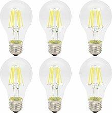 6x 6W LED Filament Glühfaden Lampe