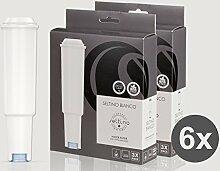 6x Filterpatrone Seltino BIANCO ersatzfilter für Jura Claris White 68739, (2x 3er-Pack!)