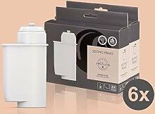 6x Filterpatrone Seltino PRIMO - Ersatzfilter für Brita Intenza 467873 TZ70003, für Espressovollautomaten Bosch, Neff, Siemens, Gaggenau... (2x 3er Pack!)
