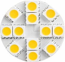 6x G4 2,5W 160 lm LED Lampe 3000K Warmweiß 12