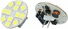 6x G4 2,5W 160 lm LED Lampe 6000K Kaltweiß 12