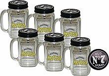 6x Jack Daniels Lynchburg Lemonade Glas - Original