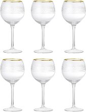 6x Weinglas ROYAL H. 20,5cm D. 10cm mit