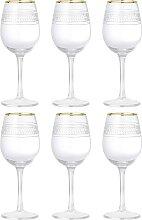 6x Weinglas ROYAL H. 22,5cm D. 9cm mit