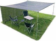 6x4 Meter Garten Camping Schattentuch Sandkasten