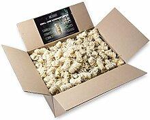 7,5 kg Anzünder aus Holzwolle und Wachs I Giftfrei & Geruchlos & rauchfrei mit intensiver Brenndauer I perfekt als Kamin-Anzünder, Ofen- oder Grillanzünder