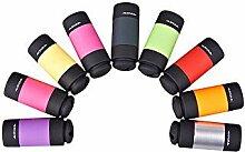 7 Farben LED Mini Taschenlampe LED Flasshlight 0,3
