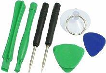 7 in 1 Öffnungs Reparatur-Werkzeuge Pry Kreuz Pentacle Schraubenzieher für iPhone 4 4G