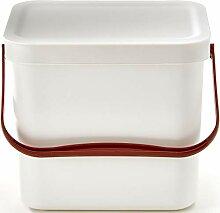 7 Liter Küchen Bio Mülleimer mit Deckel &