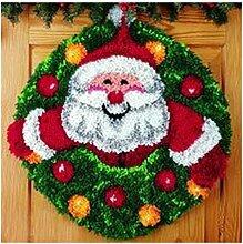 7 Modell Weihnachten Knüpfteppich für Kinder und