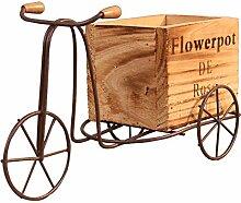7°MR willow tree Holz Dreirad Modell Blumentopf