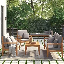 7-Sitzer Lounge-Set Amatista Garten Living