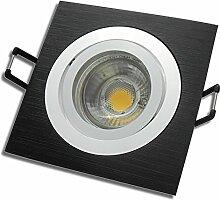 7 Stück MCOB LED Einbaustrahler Lena 230 Volt 7