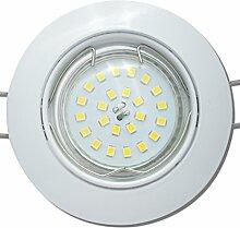 7 Stück SMD LED Einbaustrahler Fabian 230 Volt 5