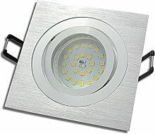7 Stück SMD LED Einbaustrahler Lena 12 Volt 5