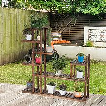 7-stufiges Pflanzenregal Pflanzenständer